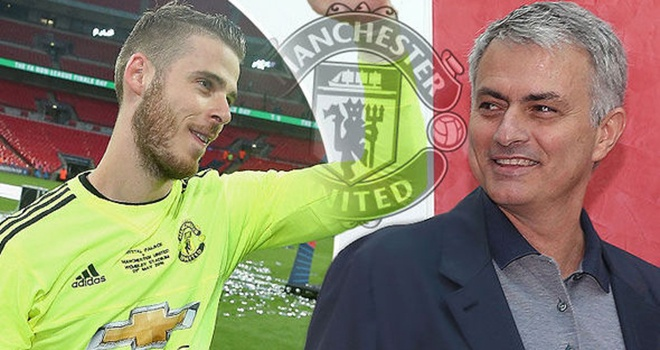 Mourinho: 'De Gea se co tran dau tien cua mua giai moi o Los Angeles' anh 1
