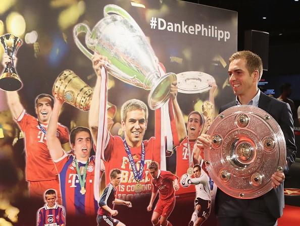 Philipp Lahm lich lam buoc vao ngoi nha huyen thoai cua Bayern Munich hinh anh