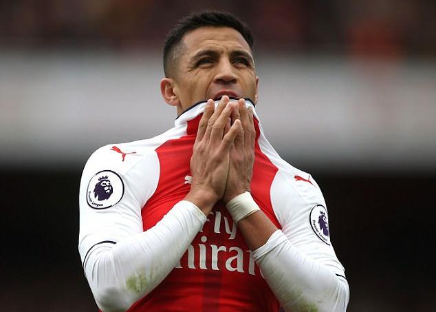 Sanchez that vong voi 'toi hau thu' cua Arsenal hinh anh