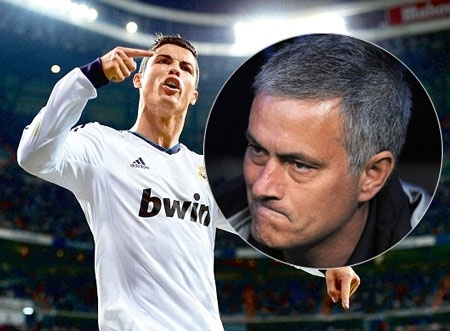 Ronaldo - Mourinho va cuoc chien suot 10 nam qua hinh anh