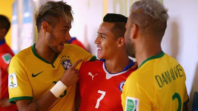 Paris SG dung Neymar va Alves de loi keo Alexis Sanchez hinh anh