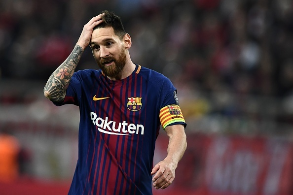 Messi im tieng, Barcelona chia diem voi Olympiacos hinh anh