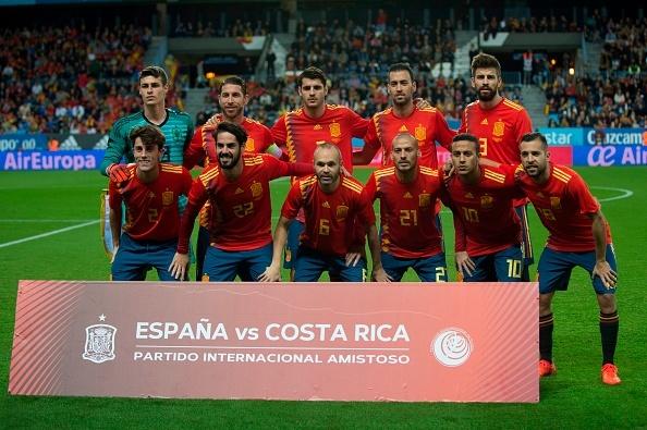 Morata lap cong, Tay Ban Nha de bep Costa Rica 5-0 hinh anh 1
