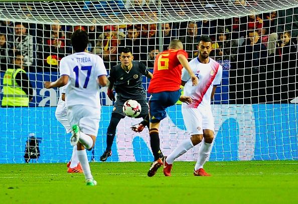 Morata lap cong, Tay Ban Nha de bep Costa Rica 5-0 hinh anh 9