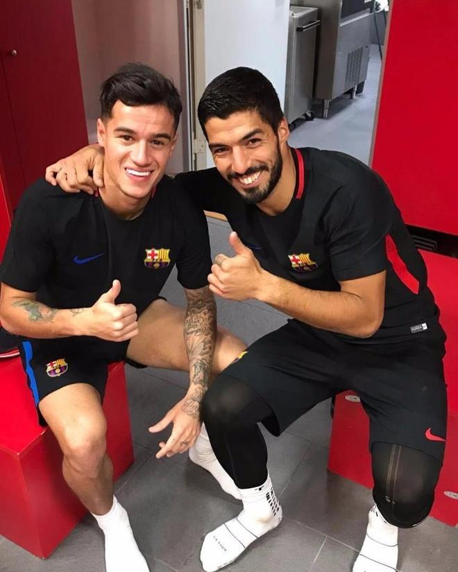 Coutinho gap dong doi moi tai Barca hinh anh 1