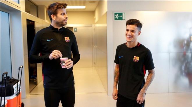Coutinho gap dong doi moi tai Barca hinh anh 4