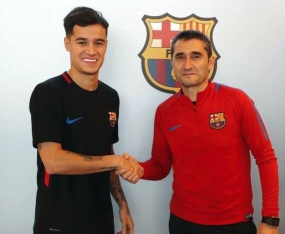 Coutinho gap dong doi moi tai Barca hinh anh 6