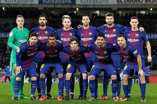Messi - Suarez lap sieu pham, Barca bo xa Real 19 diem hinh anh 1