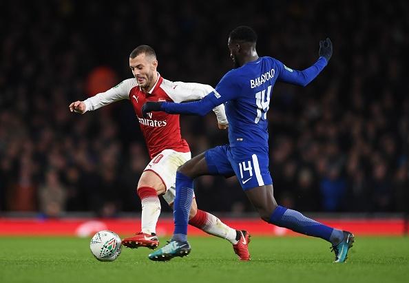 Danh bai Chelsea,  Arsenal vao chung ket League Cup anh 1