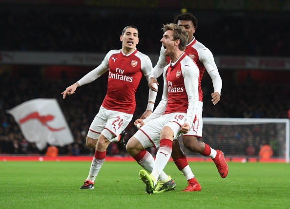 Danh bai Chelsea,  Arsenal vao chung ket League Cup anh 6
