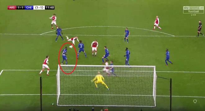 Danh bai Chelsea,  Arsenal vao chung ket League Cup anh 7