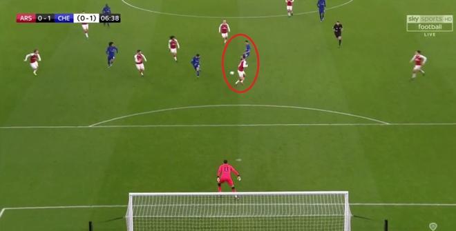 Danh bai Chelsea,  Arsenal vao chung ket League Cup anh 4