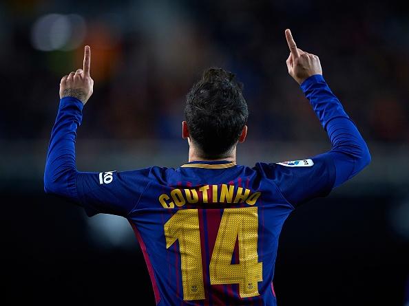 Coutinho ghi ban dua Barcelona vao chung ket cup Nha Vua hinh anh