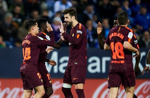 Vang Messi, Barca bay tren doi canh cua Suarez va Coutinho hinh anh 8