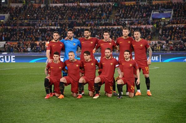 Dzeko lap cong dua AS Roma vao tu ket Champions League hinh anh 1