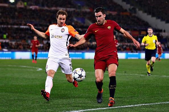 Dzeko lap cong dua AS Roma vao tu ket Champions League hinh anh 6