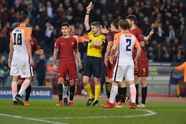 Dzeko lap cong dua AS Roma vao tu ket Champions League hinh anh 9