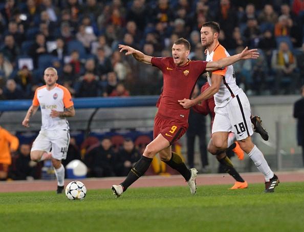 Dzeko lap cong dua AS Roma vao tu ket Champions League hinh anh 8