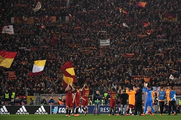 Dzeko lap cong dua AS Roma vao tu ket Champions League hinh anh 11