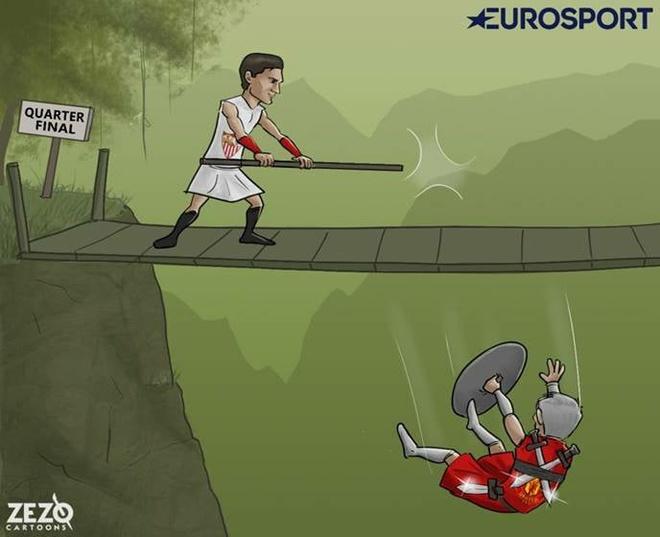 Hi hoa Messi 'xau kim' Courtois dua Barca vao tu ket Champions League hinh anh 5