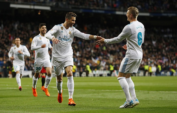 Ronaldo lap poker, Real gianh chien thang 6-3 truoc Girona hinh anh 10