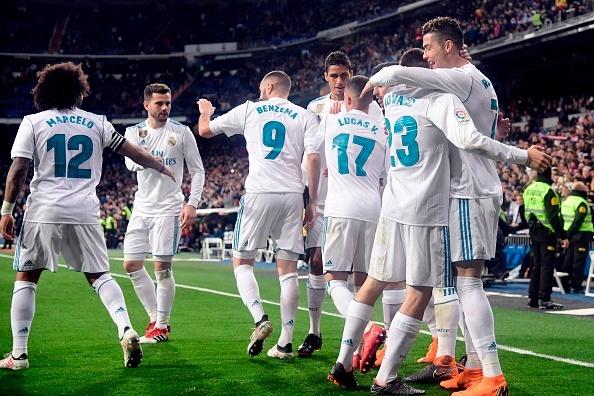 Ronaldo lap poker, Real gianh chien thang 6-3 truoc Girona hinh anh 11