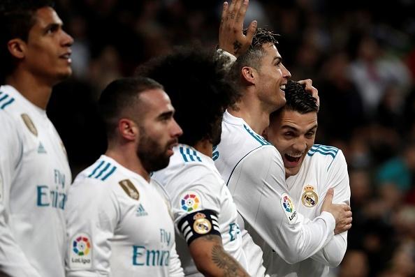 Ronaldo lap poker, Real gianh chien thang 6-3 truoc Girona hinh anh 1