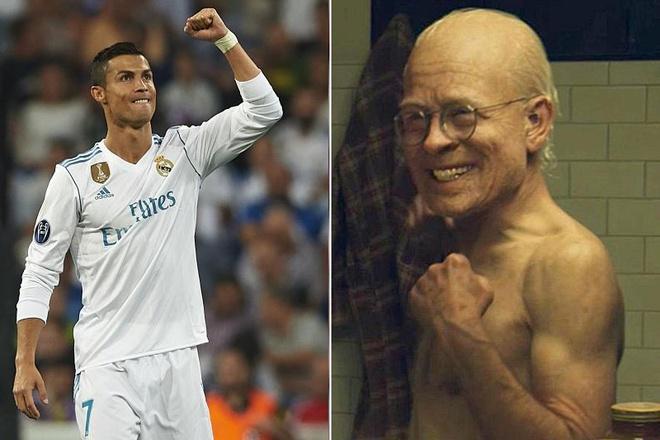Cristiano Ronaldo - Phien ban di nhan Benjamin Button ngoai doi thuc hinh anh 2