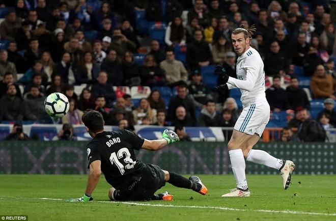 Ronaldo lap poker, Real gianh chien thang 6-3 truoc Girona hinh anh 8