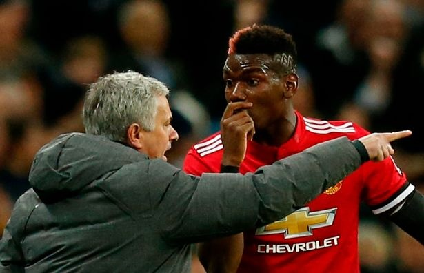 Paul Pogba xoa diu cang thang voi Mourinho hinh anh