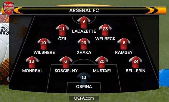 Griezmann lap cong giup 10 nguoi Atletico cam hoa tren san Arsenal hinh anh 1