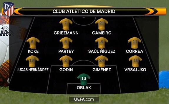 Griezmann lap cong giup 10 nguoi Atletico cam hoa tren san Arsenal hinh anh 2