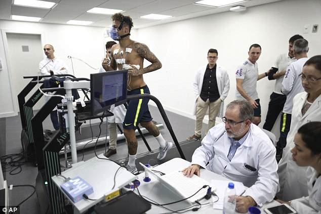 Tro lai luyen tap, Neymar san sang cho World Cup 2018 hinh anh 7