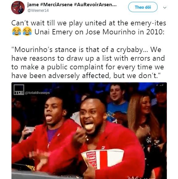 Cong kich Mourinho, Unai Emery duoc CDV Arsenal ung ho hinh anh 2