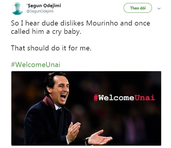 Cong kich Mourinho, Unai Emery duoc CDV Arsenal ung ho hinh anh 3