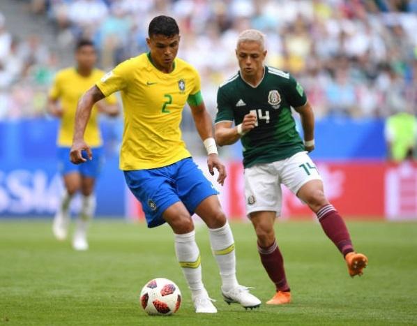 Cham diem Brazil 2-0 Mexico: Tuyet voi Neymar anh 3