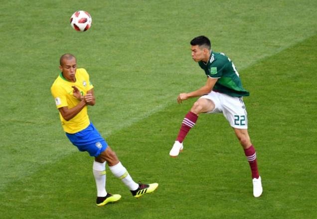 Cham diem Brazil 2-0 Mexico: Tuyet voi Neymar anh 4