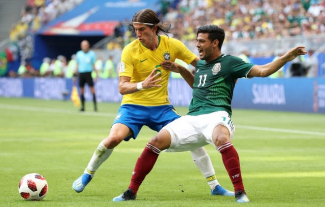 Cham diem Brazil 2-0 Mexico: Tuyet voi Neymar anh 5