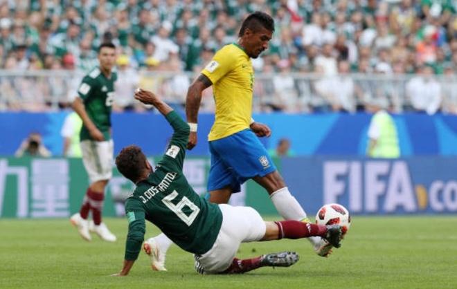 Cham diem Brazil 2-0 Mexico: Tuyet voi Neymar anh 7