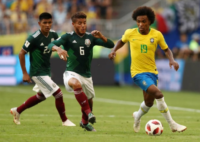 Cham diem Brazil 2-0 Mexico: Tuyet voi Neymar anh 8