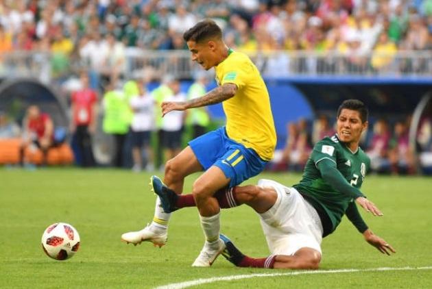 Cham diem Brazil 2-0 Mexico: Tuyet voi Neymar anh 9