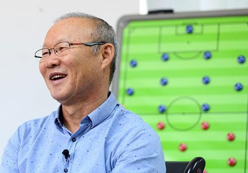 HLV Park Hang-seo danh gia doi thu cua U23 VN tai ASIAD 18 hinh anh