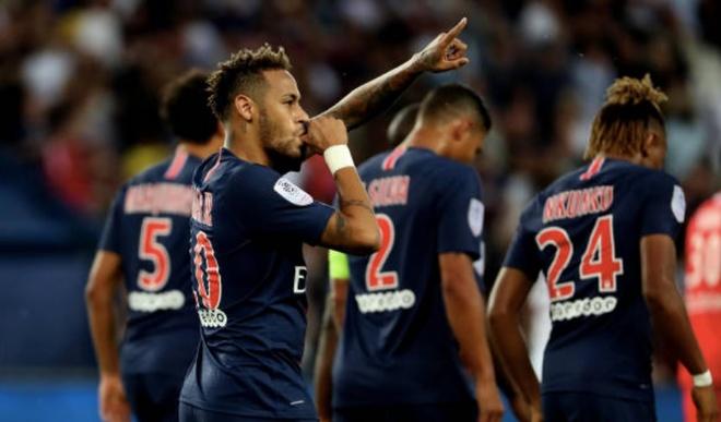 Highlights Neymar ghi ban giup PSG co chien thang 3 sao hinh anh