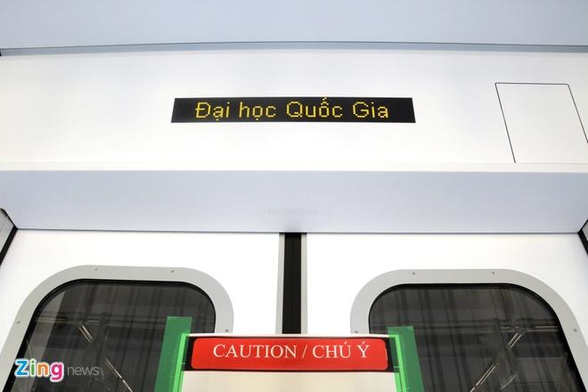 Ben trong tau dien ngam tuyen metro so 1 TP HCM hinh anh 8