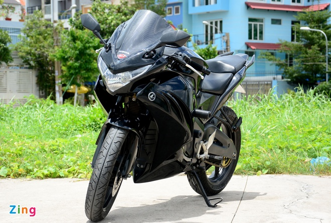 Honda CBR150 do theo phong cach phan khoi lon o Sai Gon hinh anh 3