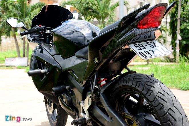 Honda CBR150 do theo phong cach phan khoi lon o Sai Gon hinh anh 5