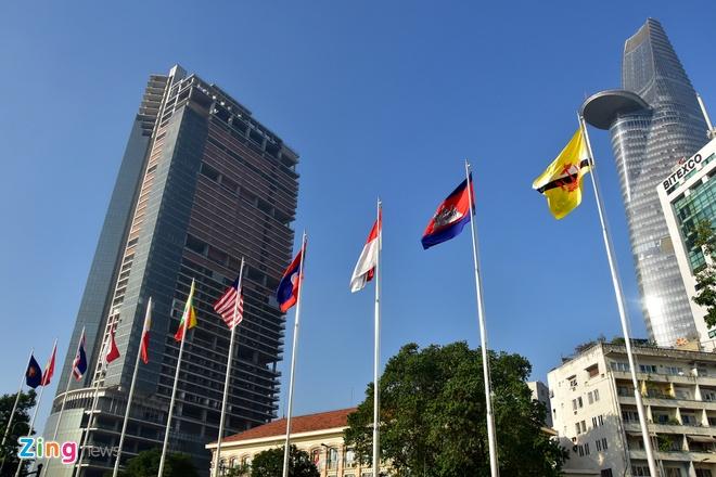 Nghi le thuong co ASEAN tai Ha Noi, TP HCM hinh anh 15