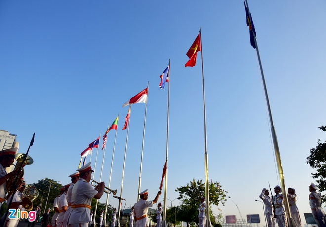 Nghi le thuong co ASEAN tai Ha Noi, TP HCM hinh anh 13