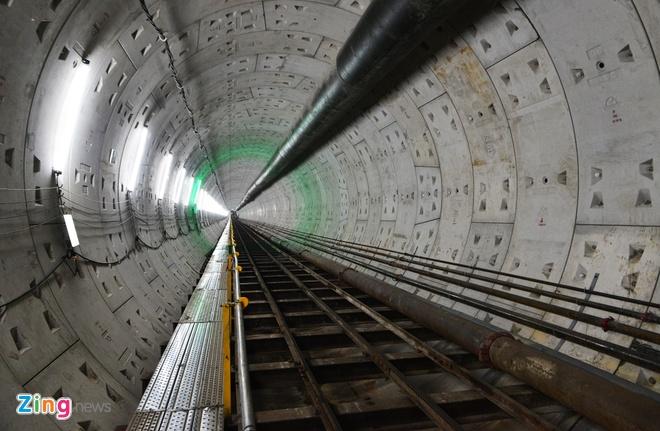 Lo dien ham metro dau tien o Sai Gon hinh anh
