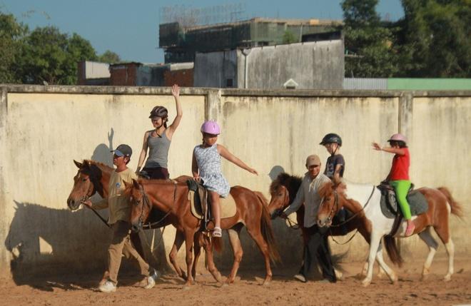 Đầu năm Ngọ, giới trẻ Sài Gòn đi học cưỡi ngựa - Đời sống ...